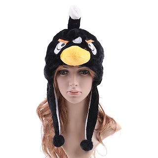 black angry birds hats