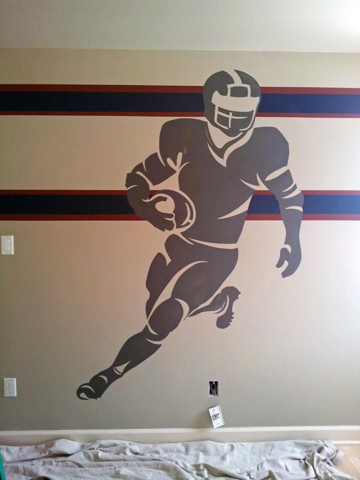 Davis creative painting boys bedroom mural for Creative mural art