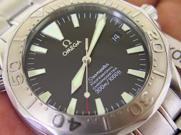 OMEGA SEAMASTER PROFESSIONAL CHRONOMETER 300m BLACK DIAL - WHITE GOLD BEZEL - AUTOMATIC