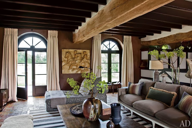 New home interior design a rustic yet sophisticated - Rustic french interior design ...