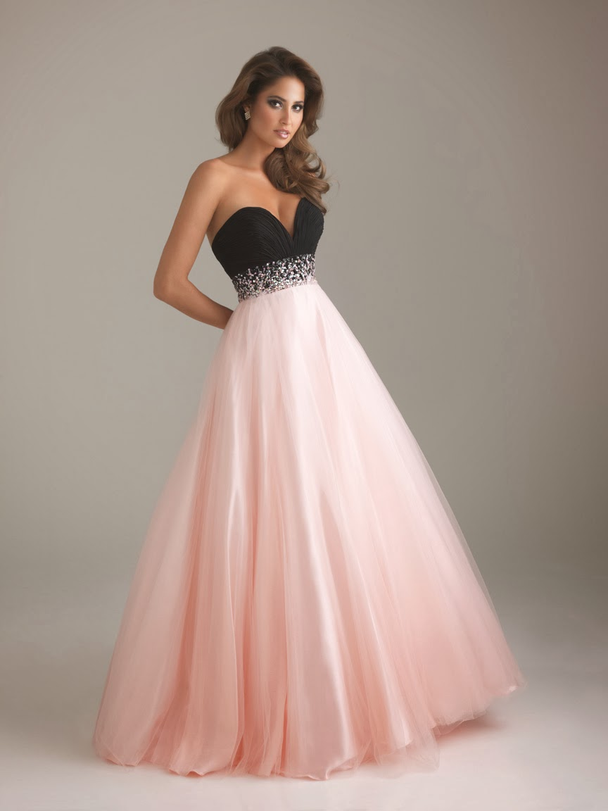 pink and black wedding dresses | Dress images