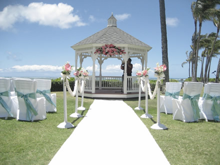Blacksequin day twenty six for Outdoor wedding gazebo decorating ideas