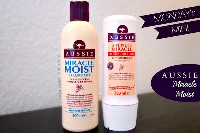 Aussie Miracle Moist Shampoo & Deep Conditioner