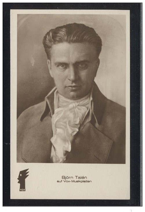 GREAT NORWEGIAN TENOR BJØRN TALÉN (1890-1945) CD