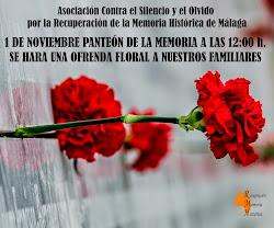 Ofrenda Floral a las víctimas de la dictadura franquista