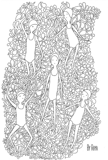 Dive in and download three pages of swim colouring fun!