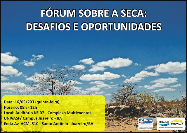 Fórum sobre a seca: Desafíos e  oportunidades
