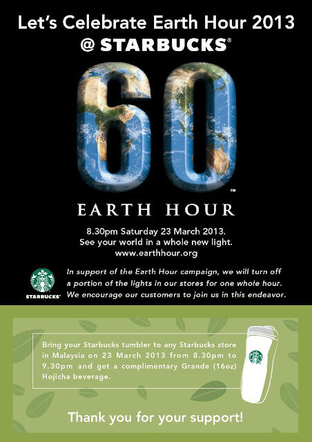392950 10152666516635333 1107358446 n CELEBRATING EARTH HOURS WITH STARBUCKS 2013