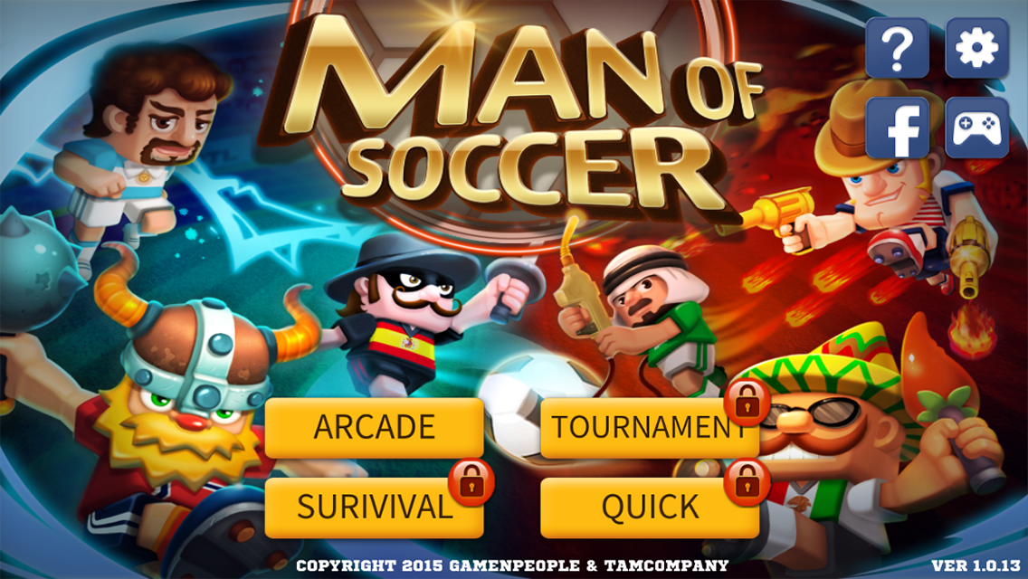 Man Of Soccer APKv1.0.15(Unlimited Coins/Gems)