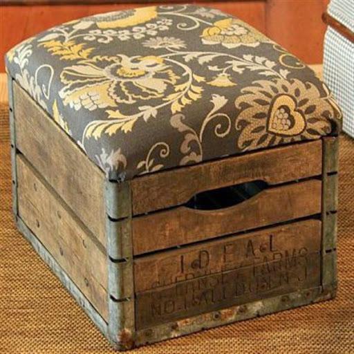 Model Furniture Daur Ulang Limbah Palet Kayu Bekas