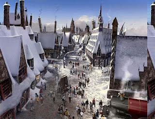 Wizarding World of Harry Potter Land Theme Park Construction