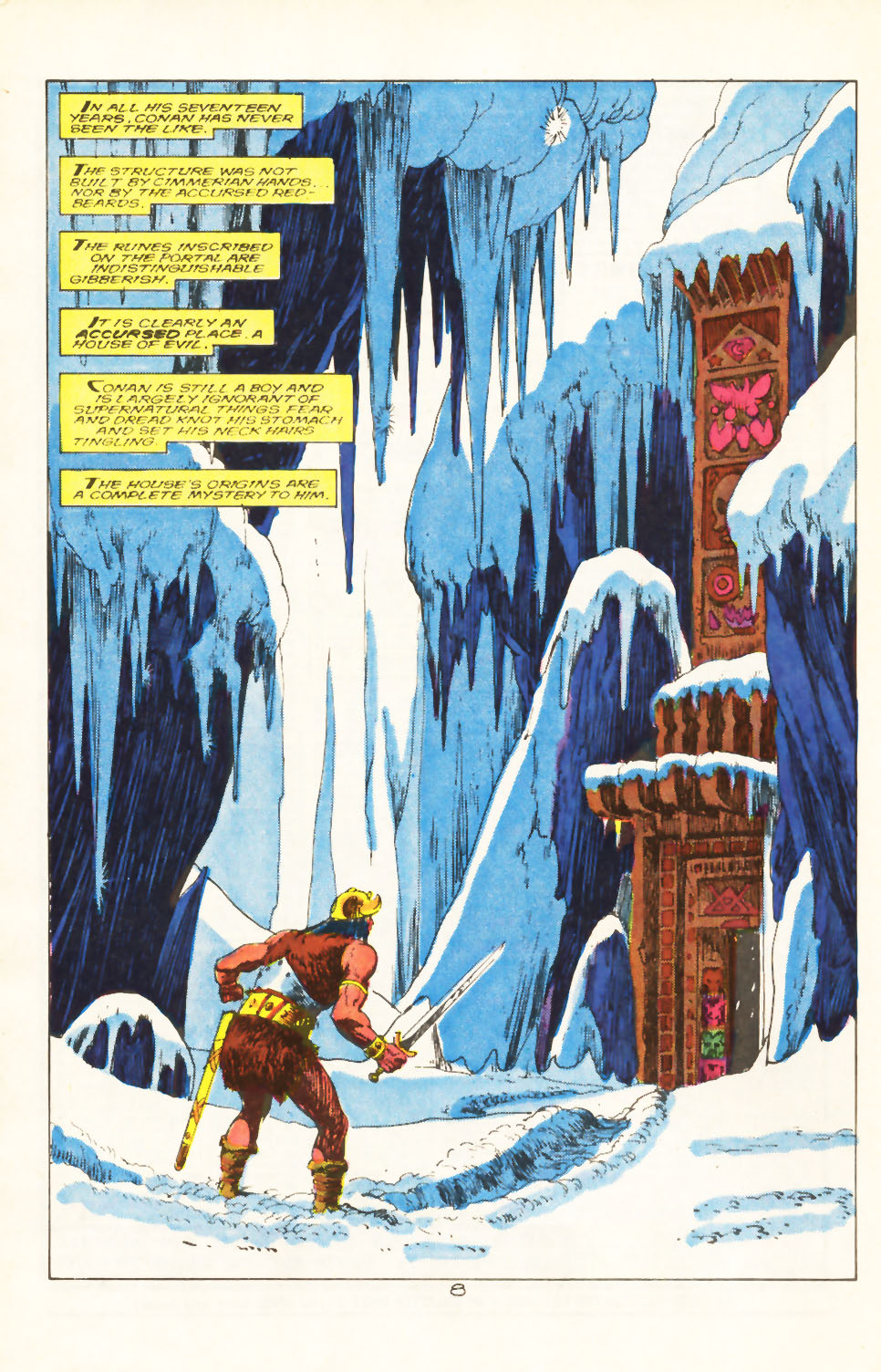 Conan the Barbarian (1970) Issue #211 #223 - English 7