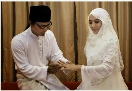 FOTO Pernikahan Rahsia Siti Elizad