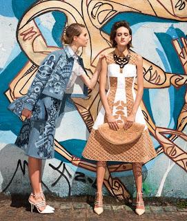 Carolina Melchior, Paula Mulazzani Vogue Brazil Magazine Photoshoot January 2014