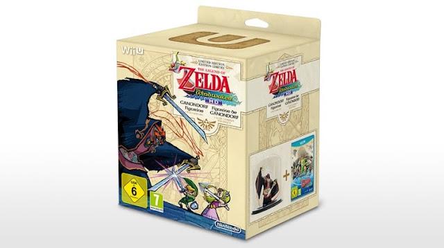 UK The Legend of Zelda Wind Waker HD Wii U Bundle