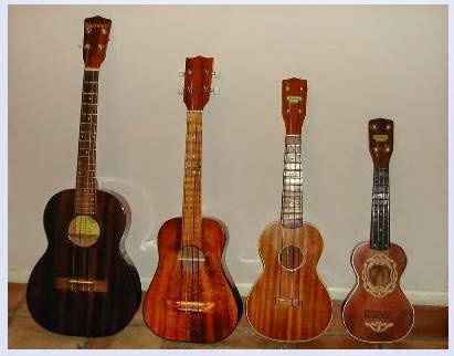 macam model ukulele