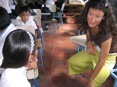 volunteering Nicaragua education