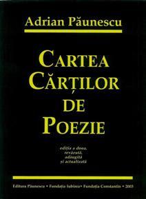 Cartea cărţilor de poezie de Adrian Păunescu