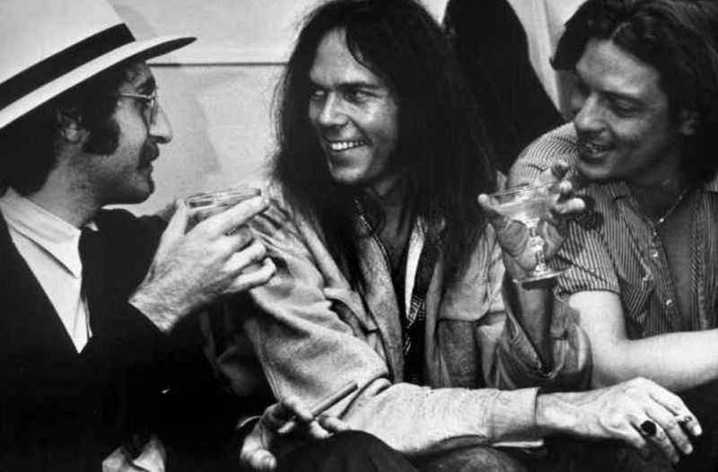 Leon Redbone, Neil Young, John Hammond Jr.