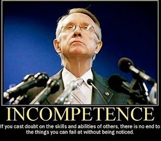 Is Harry Reid Dishonest & Incompetent?