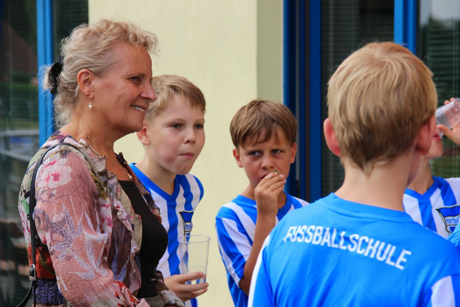 Hertha Ferienschule Trinkpause