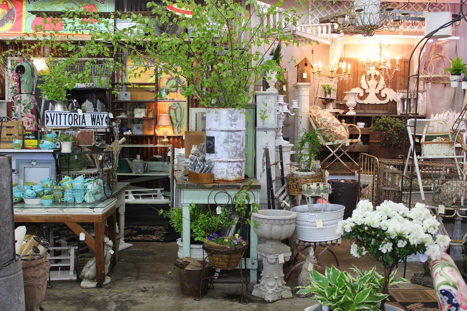 Monticello Antique Marketplace Home Garden Inspiration