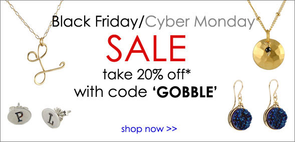 Black Friday Cyber Monday coupon for Peggy Li
