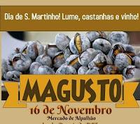 ALPALHÃO: MAGUSTO DE S. MARTINHO NO MERCADO MUNICIPAL