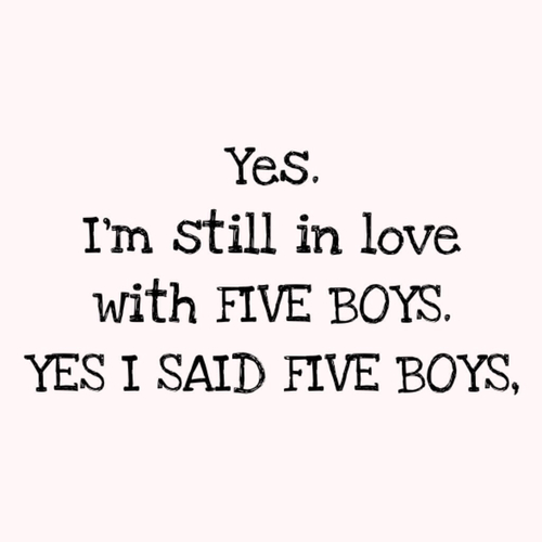 My five boys.