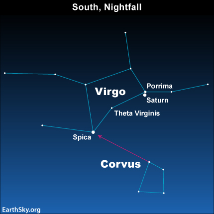 Virgo Constellation Star Names Starworlds: saturn, the lord of time ...