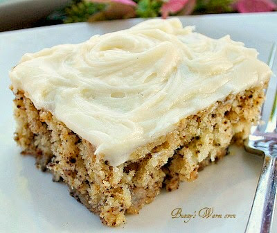 Bunny s warm oven banana walnut bars with cream cheese frosting