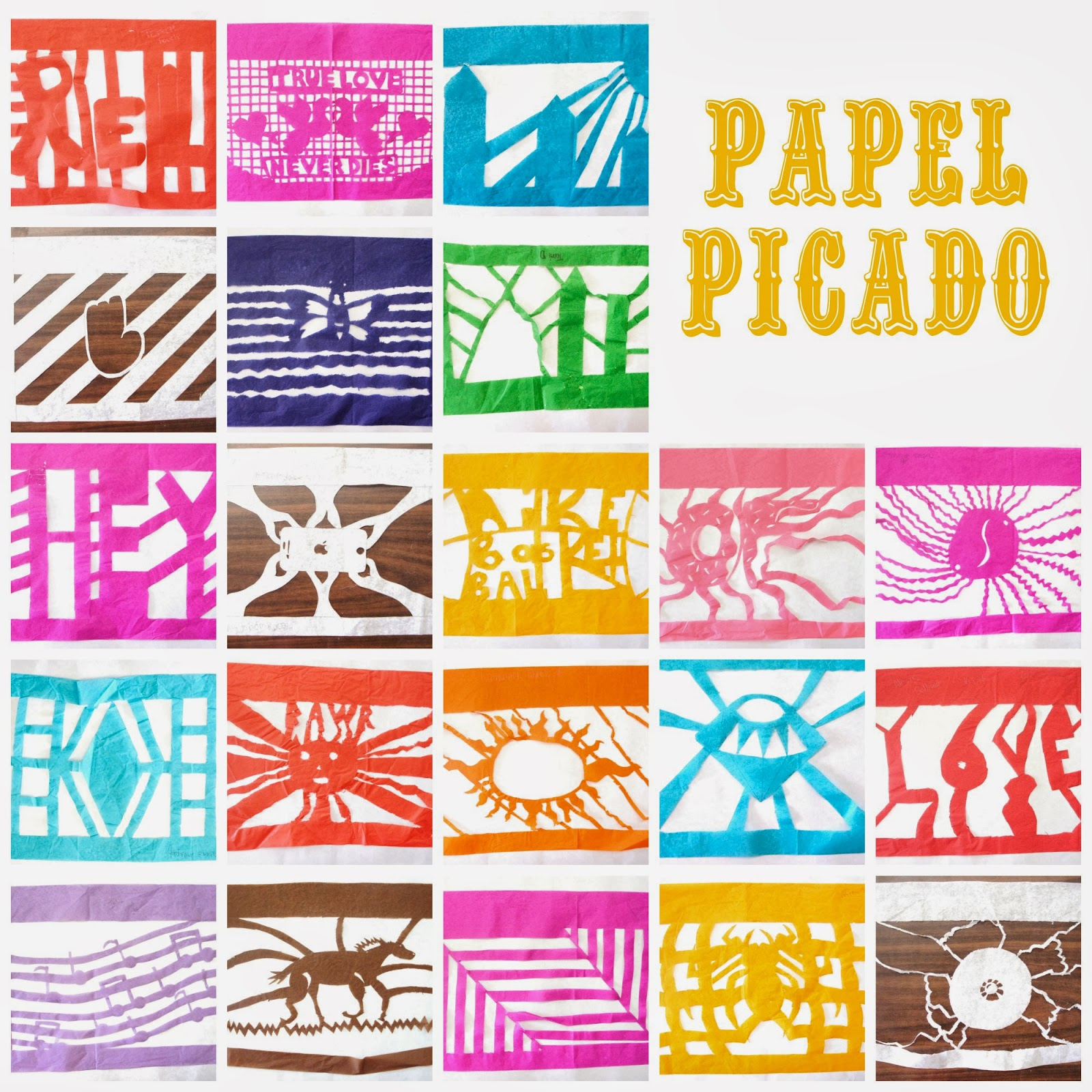 papel picado designs template - photo #20