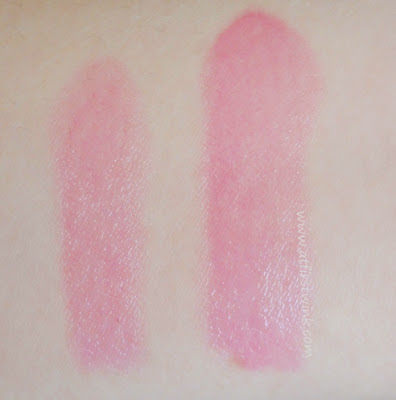 Etude House Sweet Recipe Dear My Jelly Lips JPK001 swatched on arm