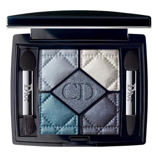 Dior '5 Couleurs' Eyeshadow Palette for Fall 2014 - Carre Bleu (276)