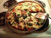 Kale, Mushroom, & Pepperoni Pizza!