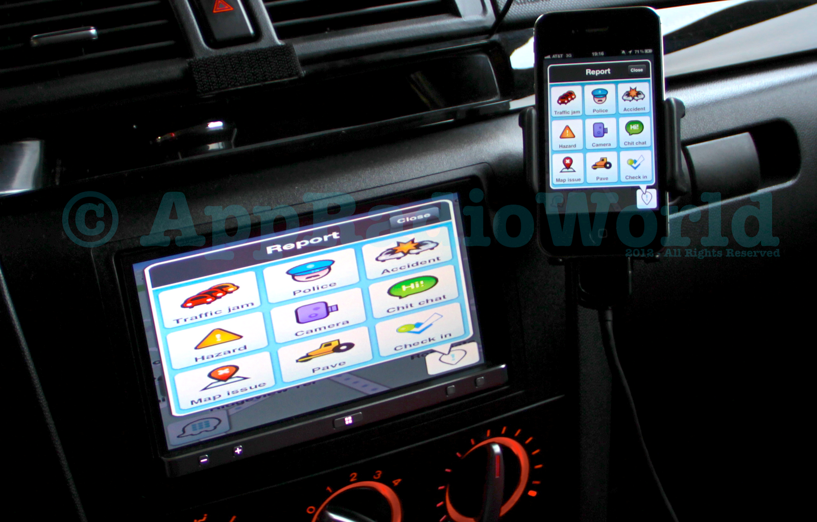 appradioworld apple carplay android auto car technology news waze for ios works with. Black Bedroom Furniture Sets. Home Design Ideas