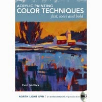 Color Techniques DVD for Fast, Loose and Bold Painting