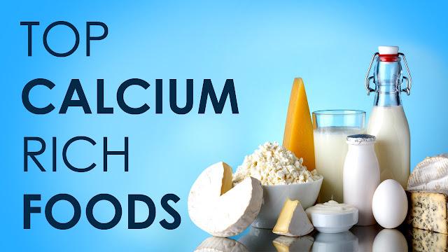 Makanan yang mengandung kalsium tinggi