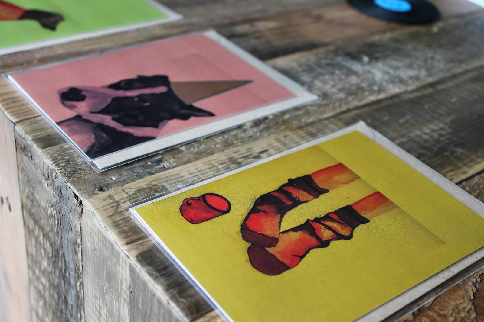 Plewsy Studio - Fiona Plews - Handmade Ilustrations Cards Prints