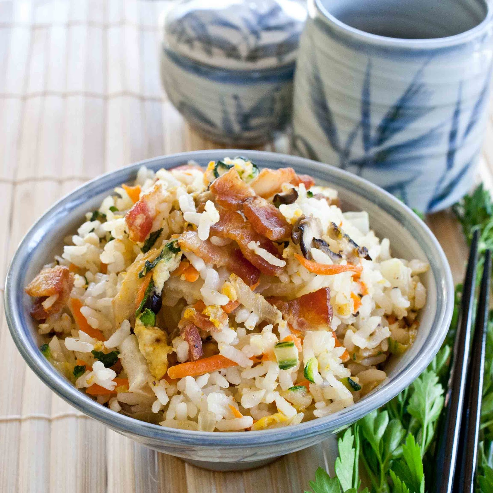 Foodjimoto bacon fried rice bacon fried rice forumfinder Images