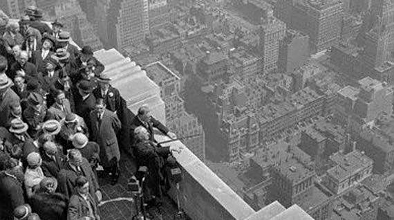empire state building opening in 1931