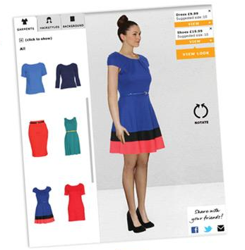 Rocktime Social Blog Tesco Launches Virtual Fitting Room
