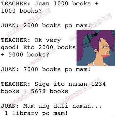 Puro books nga...