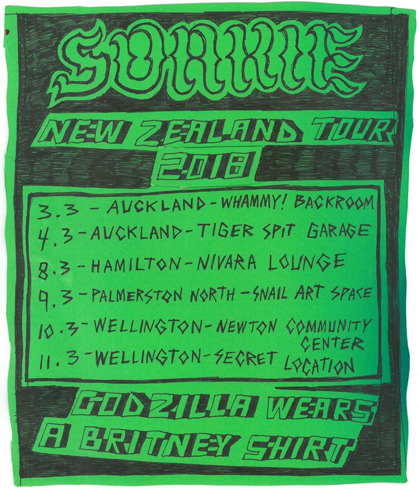 Soakie NZ Tour