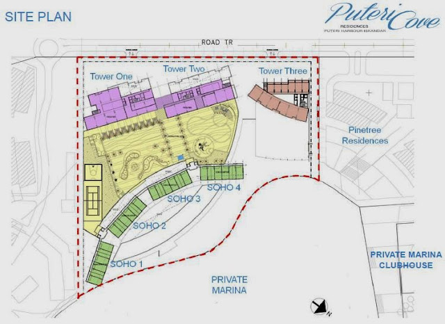 Puteri Cove Site Plan