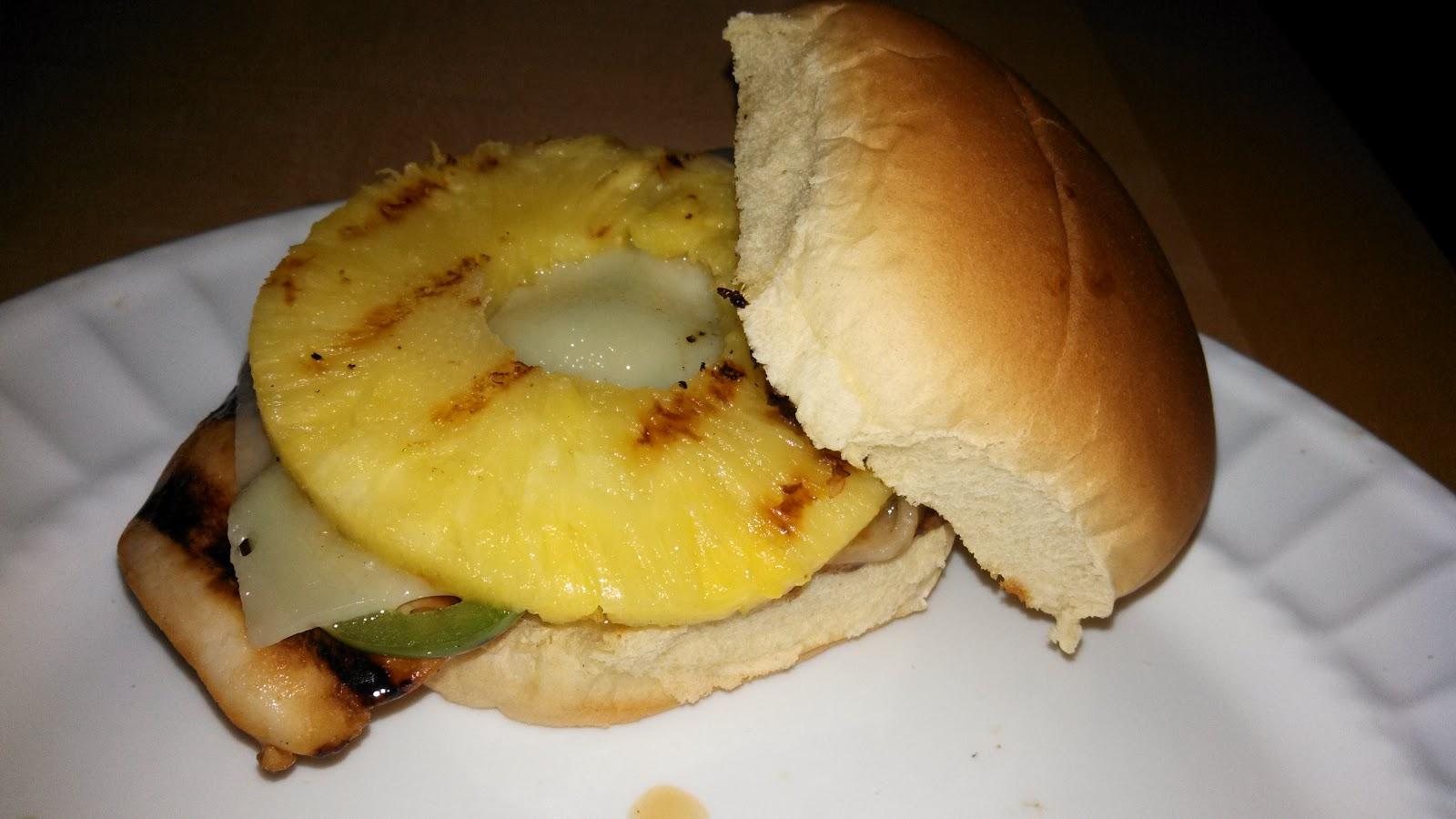 Hot Dog It's a Food Blog: Hawaiian Chicken Burgers