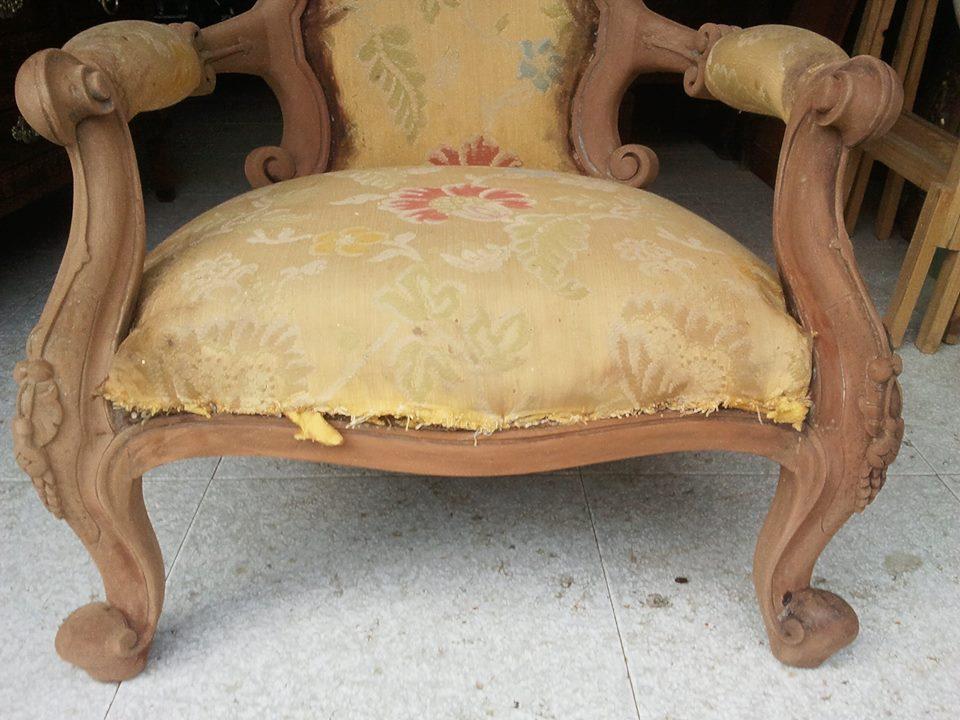 Sillones ingleses de caoba - Muebles ingleses antiguos ...