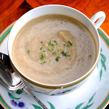 Sunchoke Leek Tarragon Soup