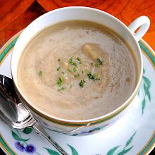 Sunchoke Leek Tarragon Soup