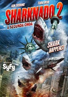 Sharknado 2: A Segunda Onda - HDTV Dual Áudio